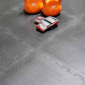 "The ""Armor-Lock"" tiles are built for rugged gym use."