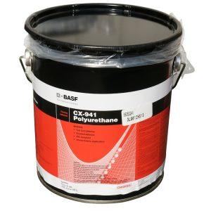The CX-941 polyurethane based glue is highly recommended