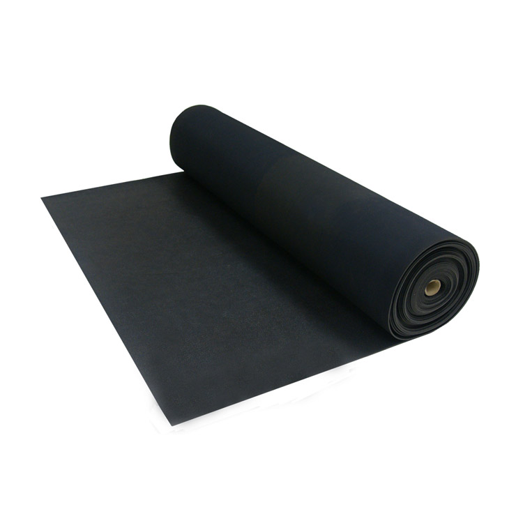 Can You Install Rubber Flooring Over Carpet: Rubber Floor Install: Double-Sided Tape
