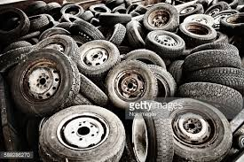 This is what happens to tires when they are not recycled