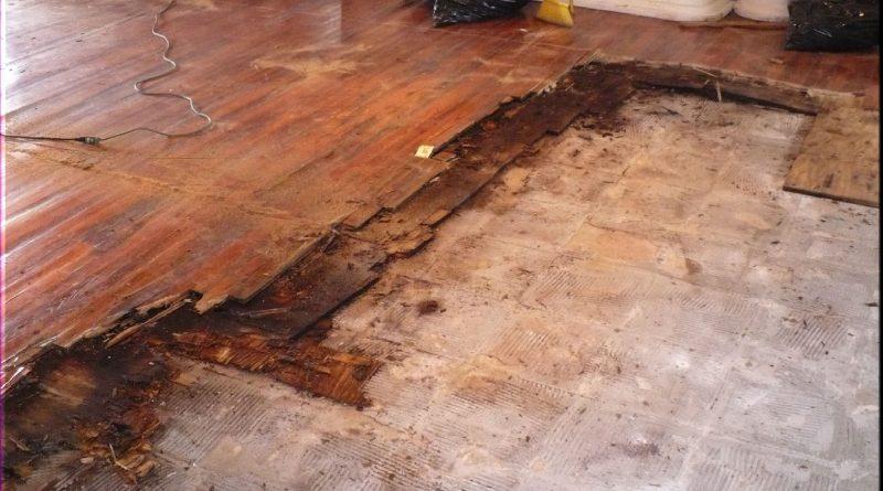 Damaged Floors - RubberCal