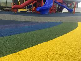 Rubber Playground Surface – Safe and durable