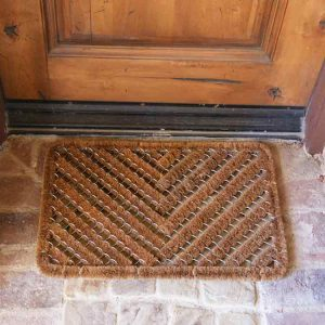 Scraper mats have the unique ability to effectively scrape off any unwanted dirt or mud from your shoes.
