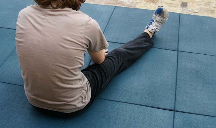 """For heavy-duty floor protection, click the image to view our """"Eco-Sport 3/4-inch"""" Interlocking Tiles!"""