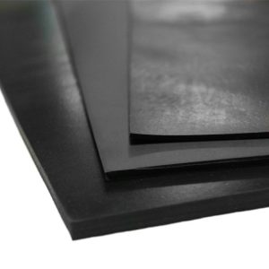 Click the image to view our popular 70A durometer neoprene rubber sheets!