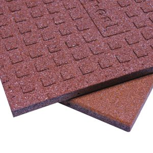 """Click the image to check out our recycled rubber """"Eco-Sport Rubber Tiles""""!"""